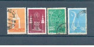 SEA Games Stamps 1959