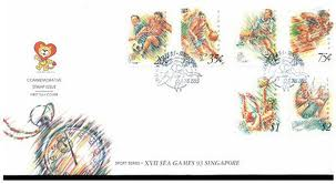 SEA Games Stamps 1993 (Singapore)