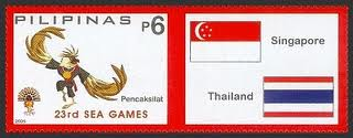 SEA Games Stamps 2005 (Philippines)