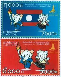 SEA Games Stamps 2009 (Laos)