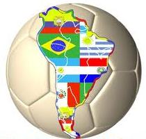 CONMEBOL Map