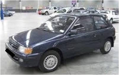 Toyota Starlet Biru 1992