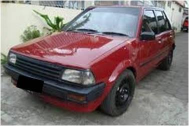 Toyota Starlet Merah 1986
