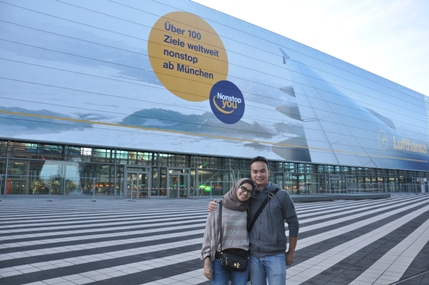 Di Depan Munich International Airport
