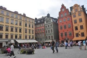Alun-alun Gamla Stan (Kota Tua Stockholm)