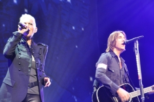 Roxette on the stage