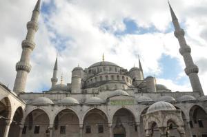Halaman dalam Blue Mosque