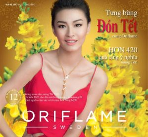 Oriflame catalogue Vietnam 2013