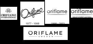 Logo Oriflame dari tahun 1967 sampai sekarang (2013)