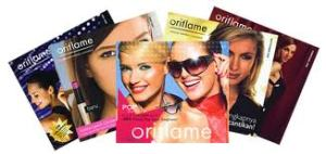 Oriflame Catalogue Swedish natural cosmetics 90's