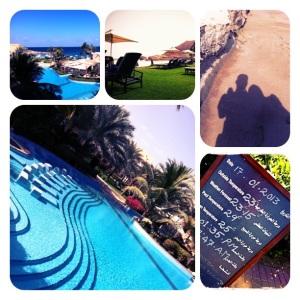 Kolam renang dan pantai di Shangrila Al-Bandar Muscat