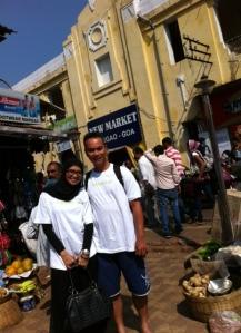 Pasar Tradisional di Margao, Goa