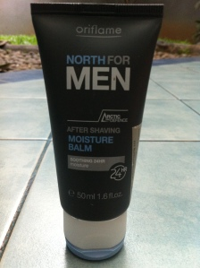 North for Men after shaving Moisture Balm