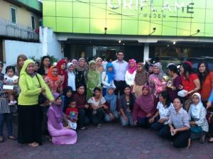 Bersama Leader Balikpapan dan MD Oriflame Indonesia