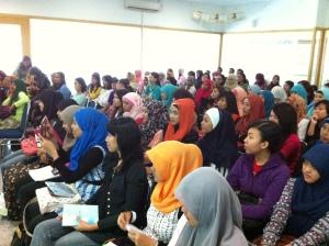 Peserta Business Sharing Oriflame Surabaya