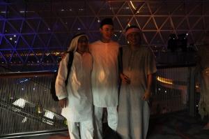 Bersama Arab palsu di Arabian Night