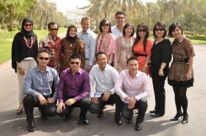Di Depan Istana Penguasa Dubai