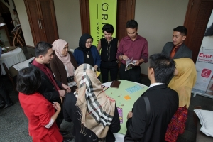 Sesi workshop dan diskusi