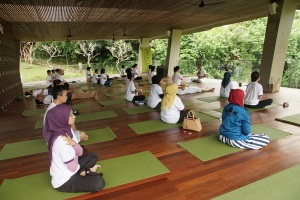 Yoga Session in Maya Ubud