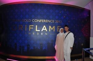 Welcome Dinner Oriflame GC 2013 Dubai