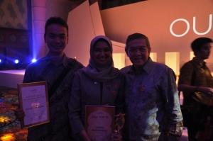 Bersama Komisaris Oriflame Indonesia Bp. Fawzy Siddik