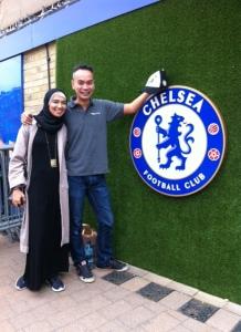 Di markas Chelsea di Stamford Bridge