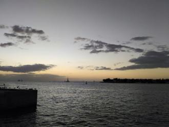 Sunset di Key West