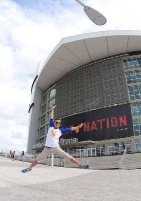 Heat Nation - Outside Miami Heat Stadium